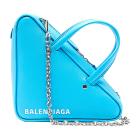 Sac en bandoulière en cuir BALENCIAGA Bleu, bleu marine, bleu turquoise