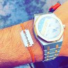 Bracelet DINH VAN Gris, anthracite