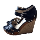 Wedge Sandals MICHAEL KORS Black