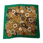 Silk Scarf CHANEL Green