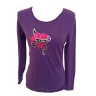 Top, T-shirt CHACOK Purple, mauve, lavender