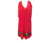 Robe courte CHACOK Rouge, bordeaux