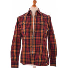 Camicia TOMMY HILFIGER Rosso, bordeaux