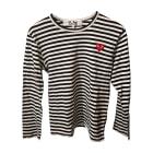 Top, tee-shirt COMME DES GARCONS Noir