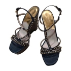 Wedge Sandals MICHAEL KORS Blue, navy, turquoise