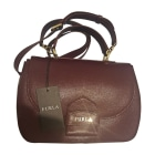 Leather Shoulder Bag FURLA Red, burgundy