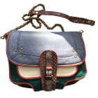 Borsa a tracolla in pelle JEROME DREYFUSS Multicolore