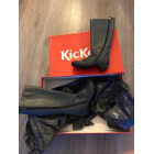 High Heel Boots KICKERS Gray, charcoal