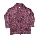 Vest, Cardigan CLAUDIE PIERLOT Red, burgundy