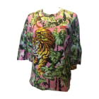 Top, tee-shirt KENZO Rose, fuschia, vieux rose