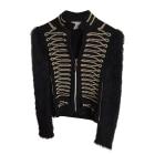 Vest, Cardigan ELISA CAVALETTI Black