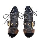 Sandales à talons BURBERRY Multicouleur