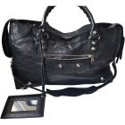 Leather Handbag BALENCIAGA Black