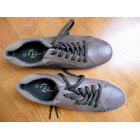 Lace Up Shoes BATA Brown