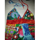 Robe dos nu DESIGUAL Multicouleur