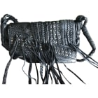 Leather Clutch ZADIG & VOLTAIRE Black