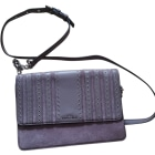Leather Shoulder Bag MICHAEL KORS Gray, charcoal