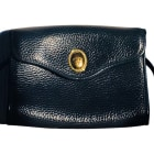 Leather Clutch DIOR Blue, navy, turquoise