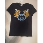 Top, T-shirt GUCCI Blue, navy, turquoise
