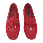 Loafers LOUIS VUITTON Red, burgundy