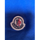 Polo MONCLER Blue, navy, turquoise