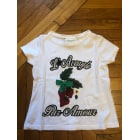 Tops, T-Shirt GUCCI Weiß, elfenbeinfarben