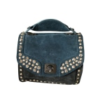 Leather Shoulder Bag ZADIG & VOLTAIRE Blue, navy, turquoise