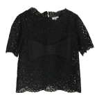 Top, T-shirt CLAUDIE PIERLOT Black