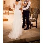 Robe de mariée CYMBELINE Blanc, blanc cassé, écru