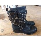Bottines & low boots plates KOOKAI Noir