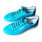 Sneakers DOLCE & GABBANA Blue, navy, turquoise