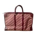 Leather Handbag DIOR Red, burgundy