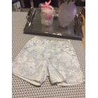Short BABY DIOR Gris, anthracite