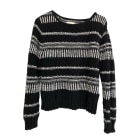 Sweater BA&SH Noir et blanc