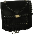 Leather Handbag CLAUDIE PIERLOT Black