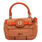 Lederhandtasche GUESS Orange
