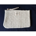 Clutch SÉZANE White, off-white, ecru