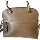 Leather Shoulder Bag FURLA taupe