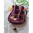 Bracelet MORGANNE BELLO Rouge, bordeaux