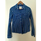 Shirt ABERCROMBIE & FITCH Blue, navy, turquoise