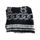 Silk Scarf CHANEL Black