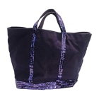 Non-Leather Oversize Bag VANESSA BRUNO Purple, mauve, lavender