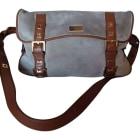 Leather Oversize Bag YVES SAINT LAURENT Beige, camel