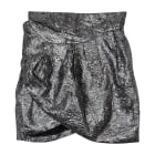 Mini Skirt ISABEL MARANT Silver