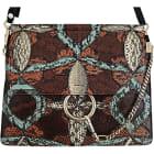 Leather Shoulder Bag CHLOÉ Faye Multicolor
