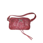 Leather Handbag ZADIG & VOLTAIRE Red, burgundy