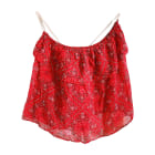 Top, T-shirt ISABEL MARANT ETOILE Red, burgundy