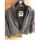 Zipped Jacket IKKS Khaki