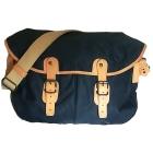 Non-Leather Shoulder Bag UPLA bleu, beige crème