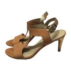 Heeled Sandals MICHAEL KORS Beige, camel